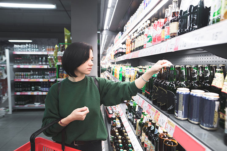 Alcohol purchase